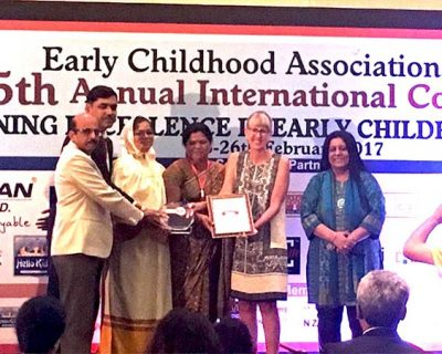 First Award Winner in 5th Annual International Conference On Early Childhood Education